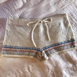 Aerie knitted shorts